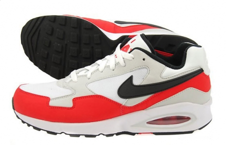 Nike Air Max ST - White/Challenge Red/Black