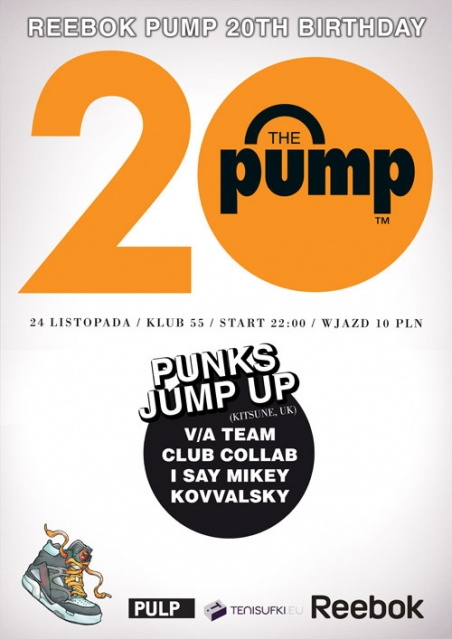 Reebok PUMP 20th Birthday feat. PUNKS JUMP UP - 24.11.09