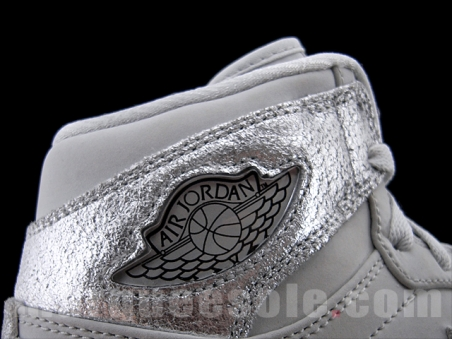 Air Jordan Retro 1 High Silver Anniversary