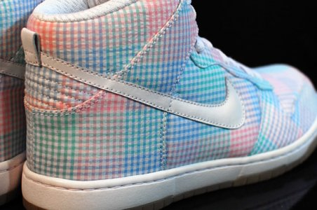 Nike Dunk High Gingham