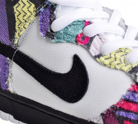 NikeSB Dunk Hi 'Wool' - Cliff Huxtable