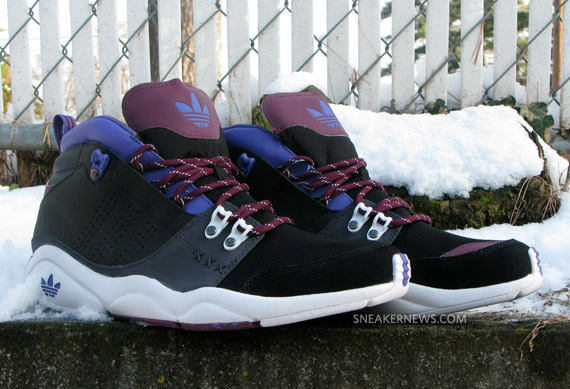 adidas Fortitude Mid - Black/Purple