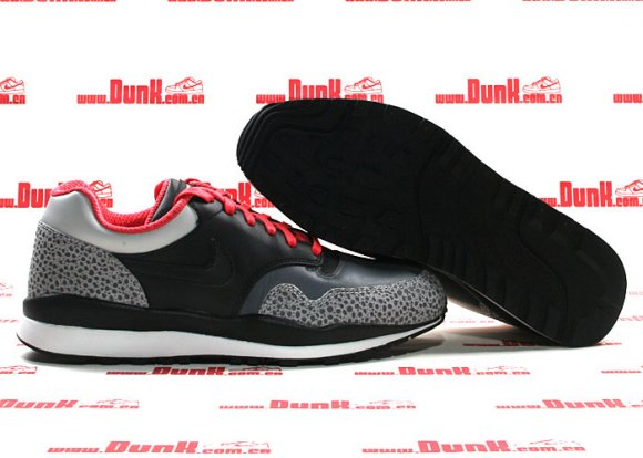 Nike Air Safari Grey/Black/Crimson