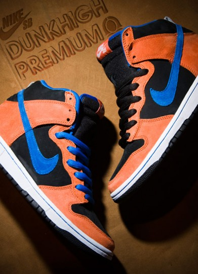 Nike SB Dunk Premium Deep Orange - Wiosna 2010