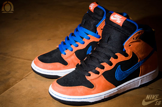Nike SB Dunk Premium Deep Orange - Luty 2010