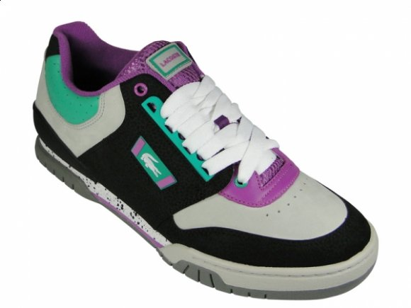 Lacoste Indiana Low - Turqoise / Violet