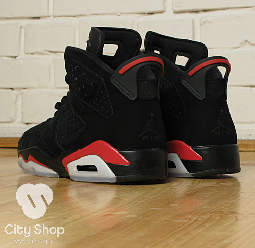 Air Jordan VI Retro Black/Varsity Red