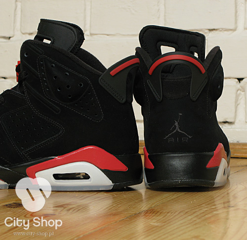 Air Jordan VI Black/Varsity Red