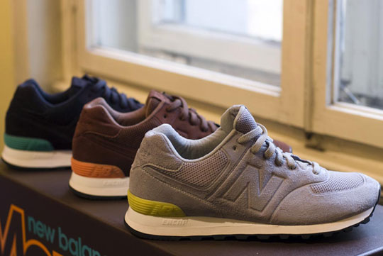 New Balance 574 Sonics Pack @ Bright Tradeshow