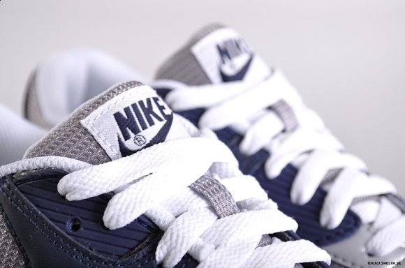 Nike Air Max 90 - Grey/Obsidian Blue