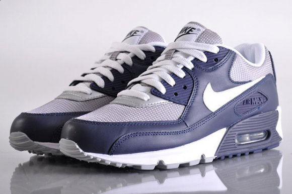 Nike Air Max 90 - Grey/Obsidian Blue (Un-Atmos)