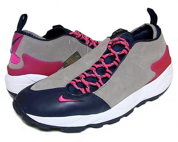 Nike Air Footscape Obsidian/Vivid Pink-Medium Grey