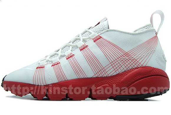 Nike Air Footscape Motion - White/Red