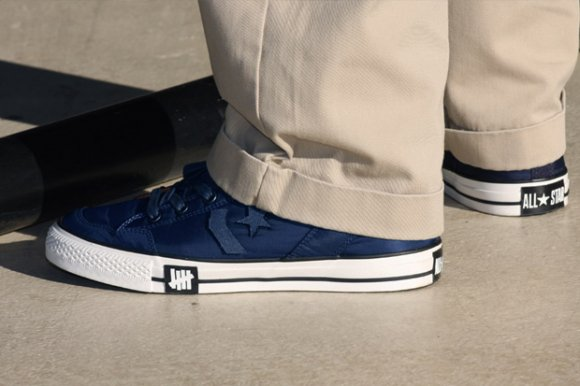 UNDFTD x Converse Poorman Navy Lookbook