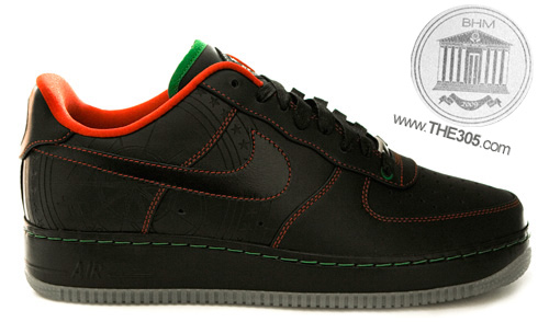 Nike Air Force 1 - Black History Month 2010