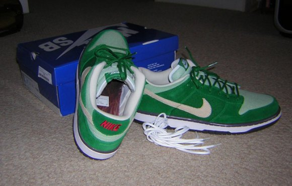 Nike SB Dunk Low Green Hemp aka Saint Patricks Day