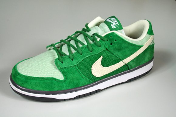Nike SB Dunk Low Green Hemp aka Saint Patrick's Day QS