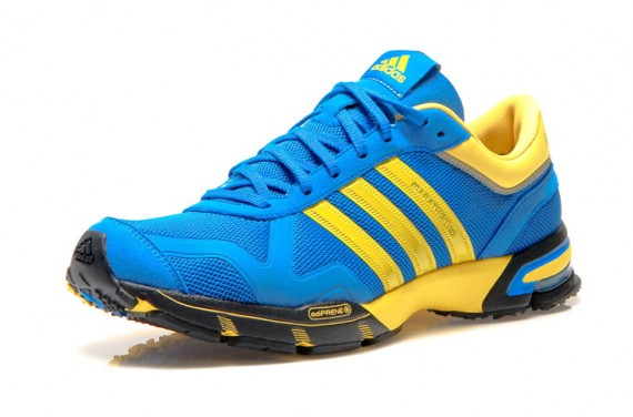 Adidas Marathon 10 - Blue/Yellow + Red/Silver