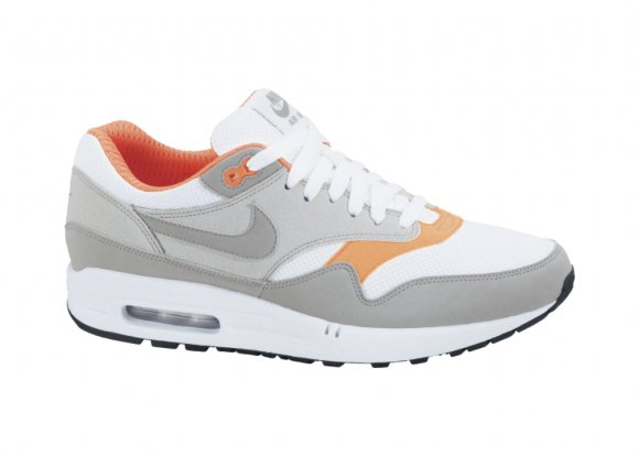 Nike Air Max 1 - Grey/Orange
