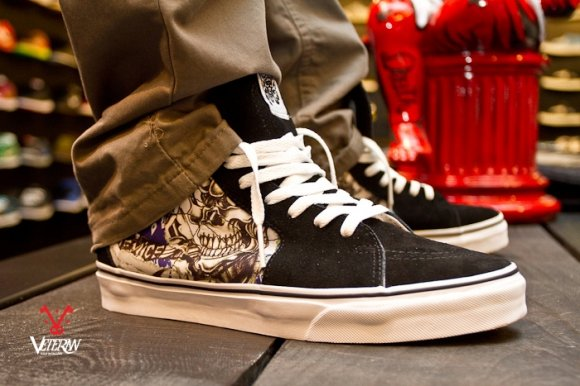 Vans Era i Vans Sk8-hi x Suicidal Tendencies
