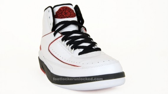 Air Jordan II Retro - White/Black/Varsity Red