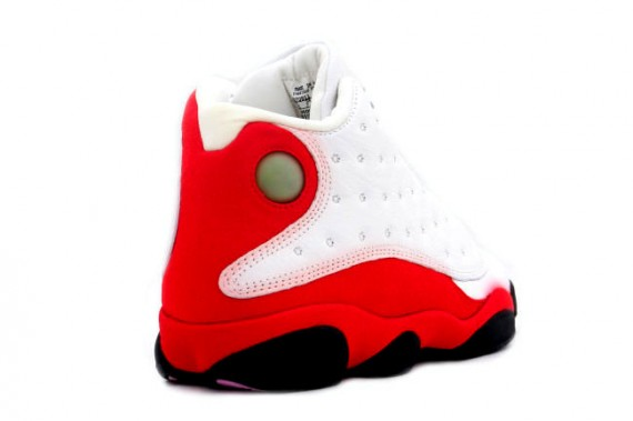 Air Jordan XIII Retro - White/Black/True Red - Zima 2010