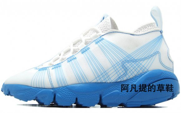 Nike Air Footscape Freemotion - White / University Blue