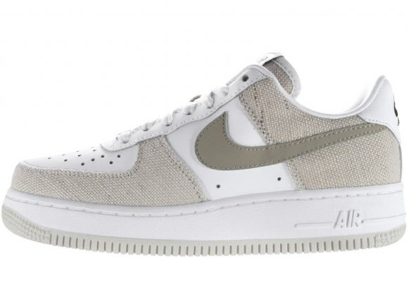 Nike Air Force 1 GS - White-Khaki-Birch