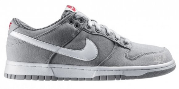 Nike Dunk Low CL Medium Grey/White/Aster Pink