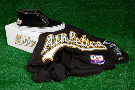 Vans Vault dla MLB - Oakland Athletics