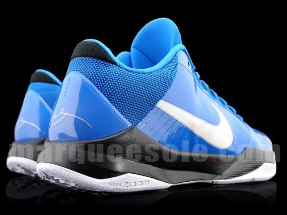 Nike Zoom Kobe V Blue/Black/White