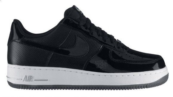 Nike Air Force 1 Black Patent