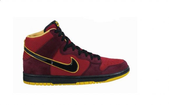 Nike SB Dunk High - Ironman