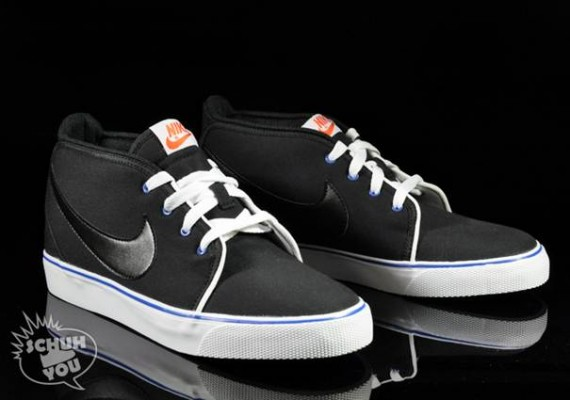 Nike Toki Canvas - Black/Varsity Royal/White