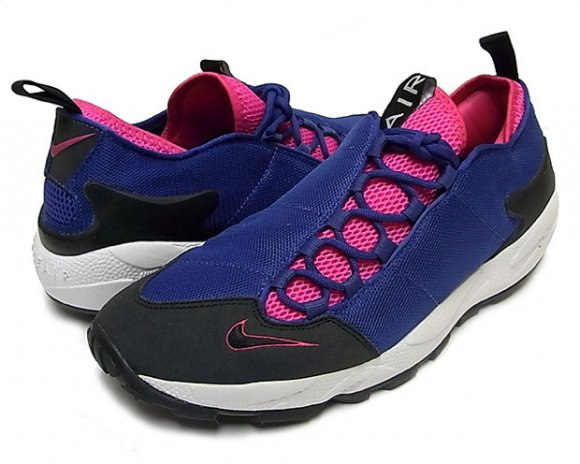 Nike Air Footscape Purple & Italy Blue