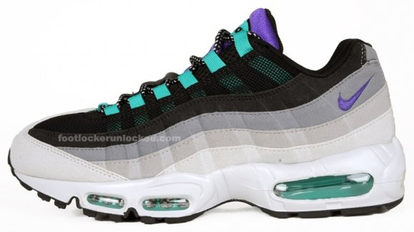 Nike Air Max 95 - Grey/Purple/Charcoal