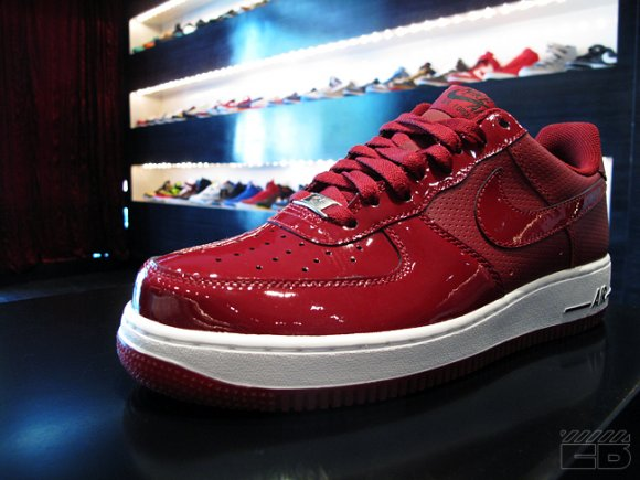 Nike Air Force 1 Team Red Patent