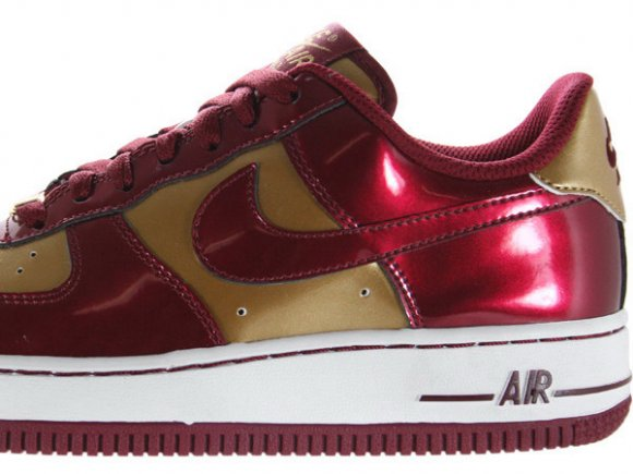 Nike Air Force 1 Low Team/Red-Metallic/Gold-White