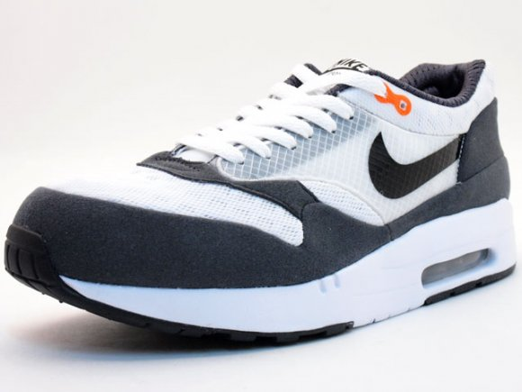 Nike Air Maxim 1+ White/Grey-Orange