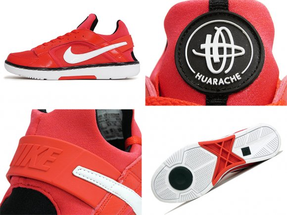 Nike WMNS Huarache Dance Low Challenge Red/White-Black
