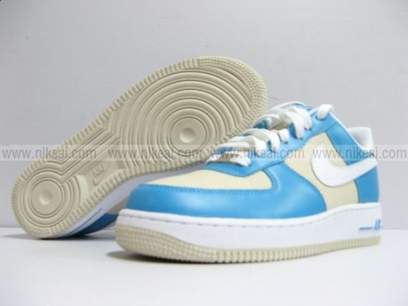 Nike Air Force 1 Low Marina Blue/White-Birch