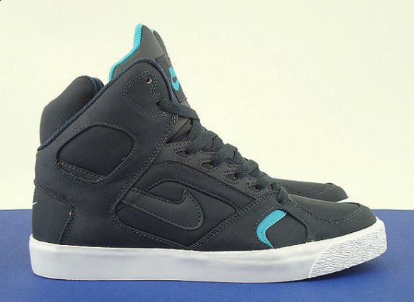 Nike Auto Flight High - Dark Obsidian/Marina Blue