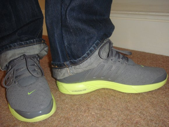 Nike Lunar Presto Rejuven8 Low - Cool Grey/Hot Lime - Sample