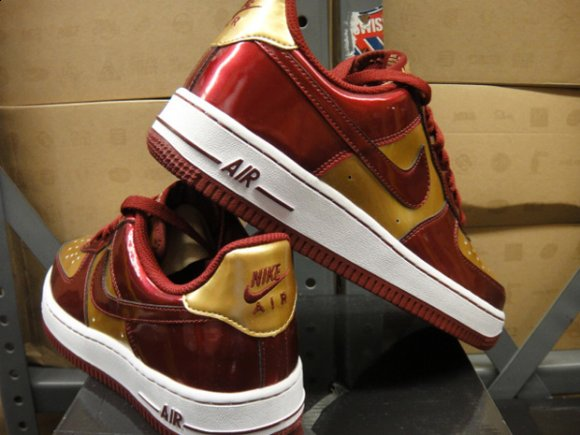 Nike Air Force 1 Iron Man