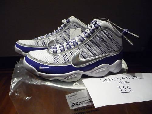 Nike Zoom Don - Metallic Silver/Purple (sample)