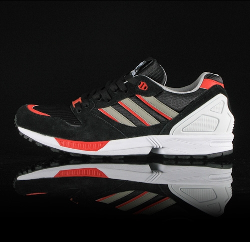 Adidas Originals ZX5000 Black/Metalic Silver/Poppy