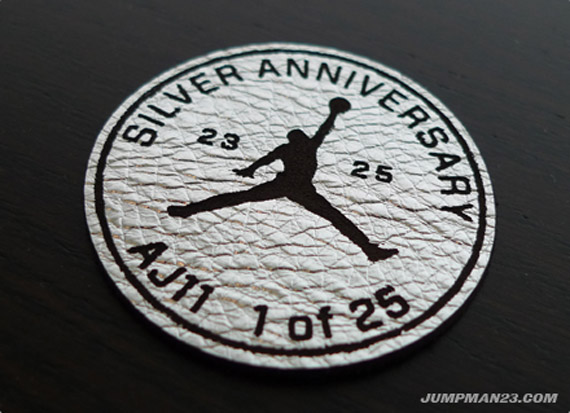 Air Jordan XI Retro - Silver Anniversary - Jumpman Edition
