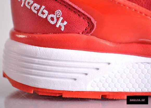 Reebok Dual Pump Running Pyro Red