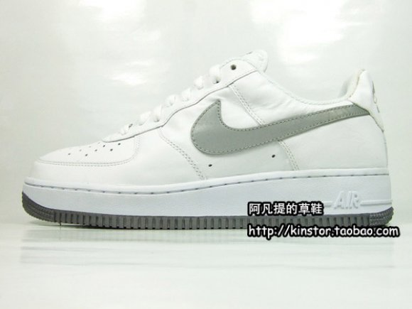 Nike Air Force 1 White/Reflective Silver