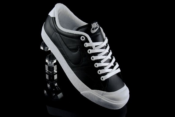 Nike All Court Leather - Black/White